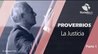 Embedded thumbnail for La Justicia 1 - Abraham Peña - Proverbios