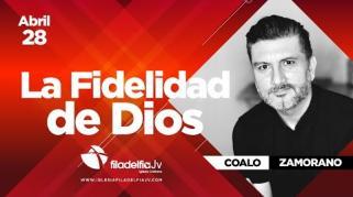 Embedded thumbnail for La fidelidad de Dios - Coalo Zamorano