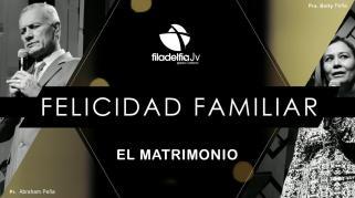 Embedded thumbnail for El Matrimonio - Pastores Abraham y Betty Peña - La Felicidad Familiar