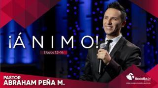 Embedded thumbnail for ¡Ánimo! - Abraham Peña Jr.