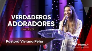 Embedded thumbnail for Verdaderos adoradores - Viviana  Peña