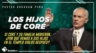 Embedded thumbnail for Los hijos de Coré - Abraham Peña