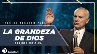 Embedded thumbnail for La grandeza de Dios - Abraham Peña